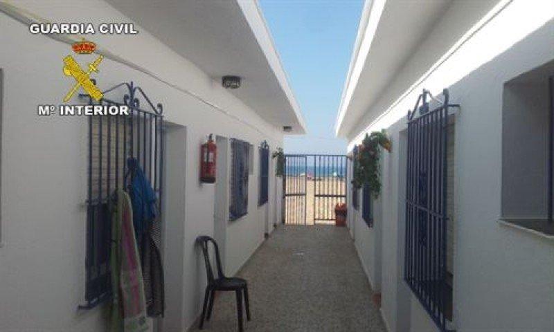 Detectan dos hoteles clandestinos en Huelva