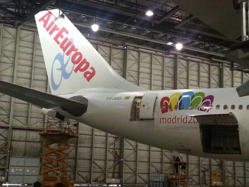 Air Europa desbanca a Iberia como patrocinador de Madrid 2020 para los JJOO