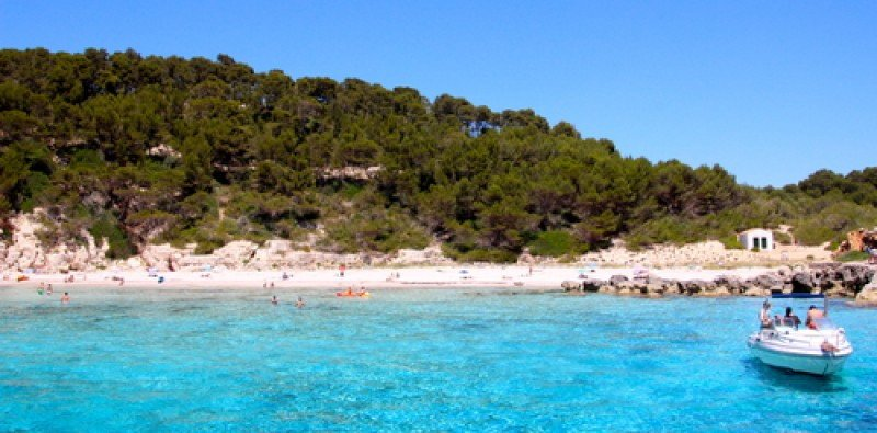 Una playa de Ibiza. #shu#