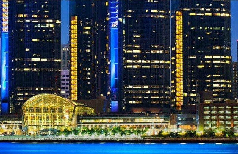 Marriott Detroit at Renaissance Center.