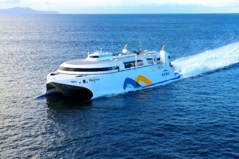 El nuevo catamarán es silencioso, desarrolla hasta 58 nudos de velocidad y reduce la polución