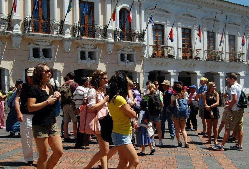 Turismo receptivo en Ecuador creció casi un 5%.