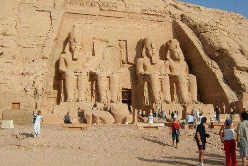 Disturbios en Egipto reducen un 25% la llegada de turistas en julio