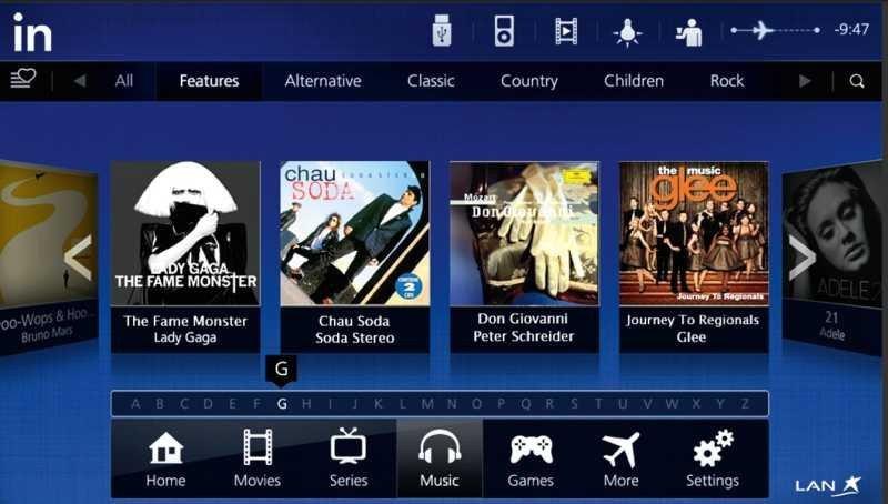 LAN prueba sistema para brindar contenidos a pasajeros en sus propios dispositivos móviles