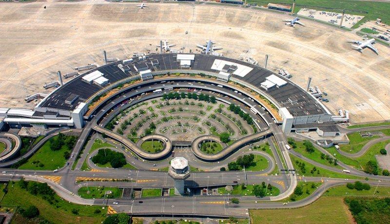 Aeropuerto internacional de Rio de Janeiro.