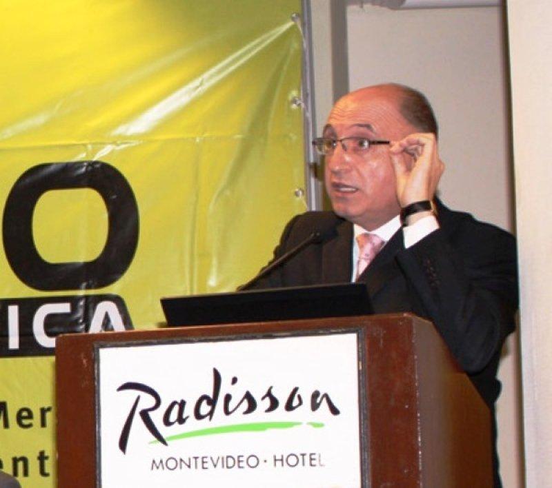 Arnaldo Nardone, presidente de ICCA y gerente del Radisson Montevideo