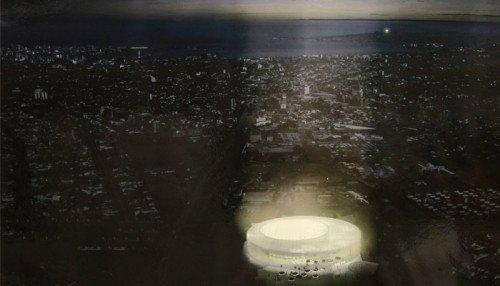 Antel Arena: presentaron los cinco proyectos finalistas