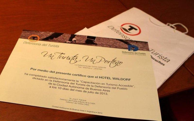 La Defensoría ofrece capacitaciones gratuitas a hoteles de la ciudad.