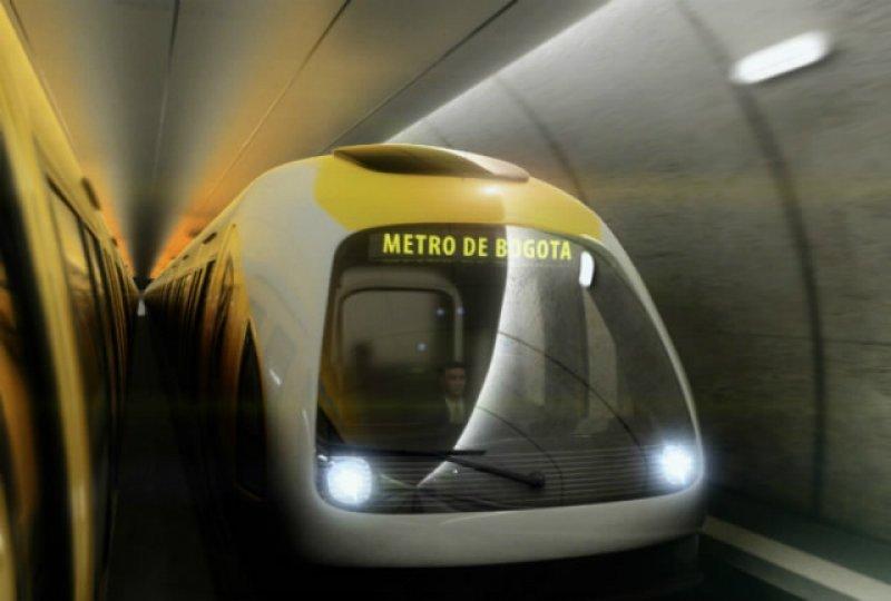 Bogotá será la segunda ciudad de Colombia con metro.