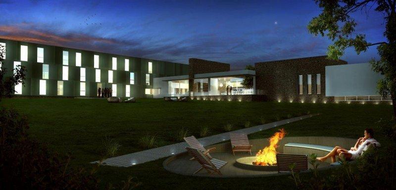 Patagonia Realty Advisors proyectaba un complejo de 60 habitaciones y un centro de convenciones  para 500 personas.