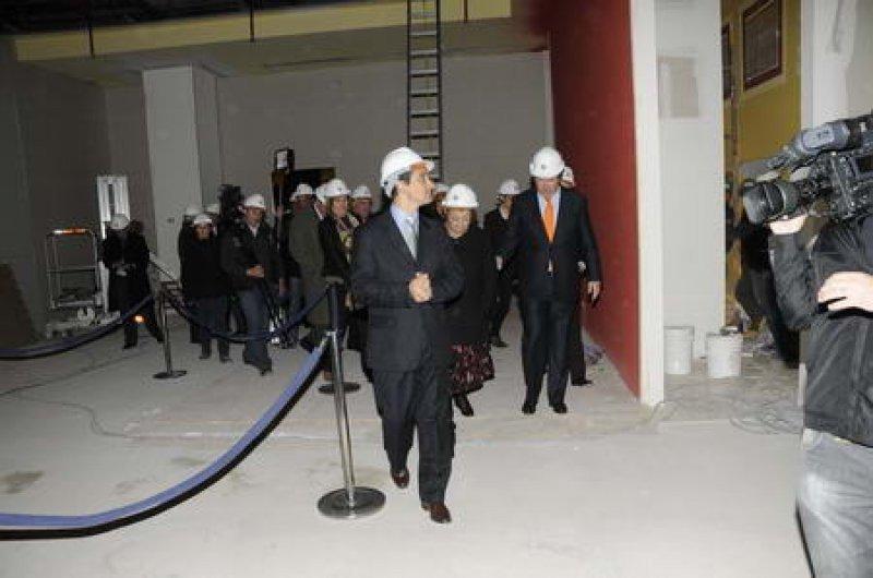 Las obras de ampliación del casino deberán estar prontas el 30 de octubre.