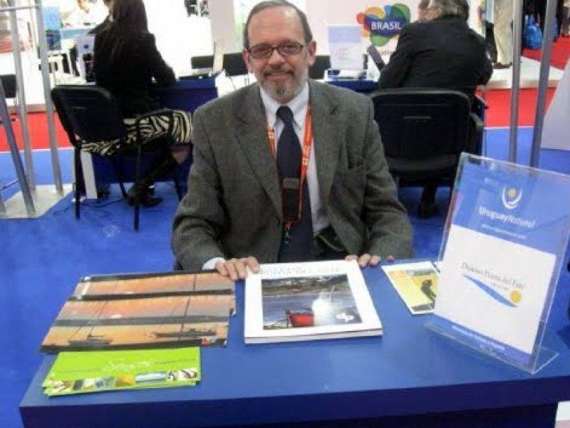 Ramón de Isequilla difundiendo Uruguay en la WTM