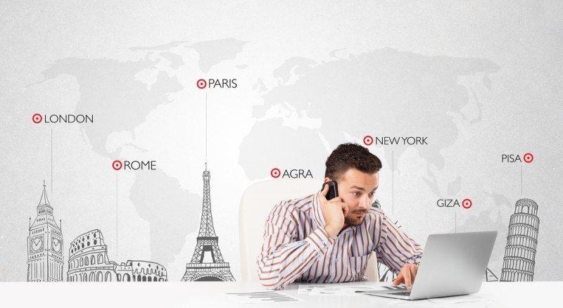 Detrás de una reserva online también hay agentes de viajes haciendo su trabajo. #shu#