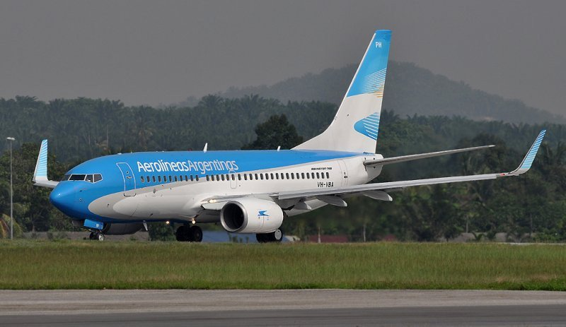 Actualmente Aerolíneas Argentinas no opera vuelos de cabotaje en Chile y Brasil.