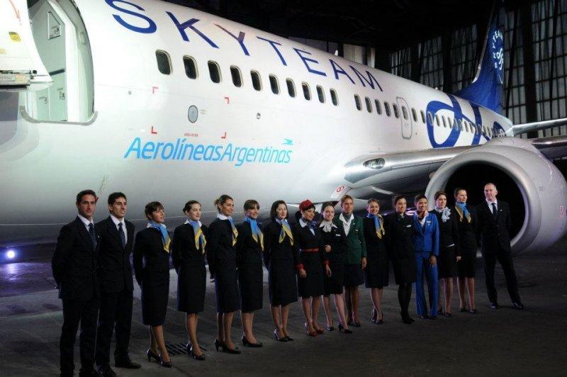 Aerolíneas el primer socio de Sudamérica.