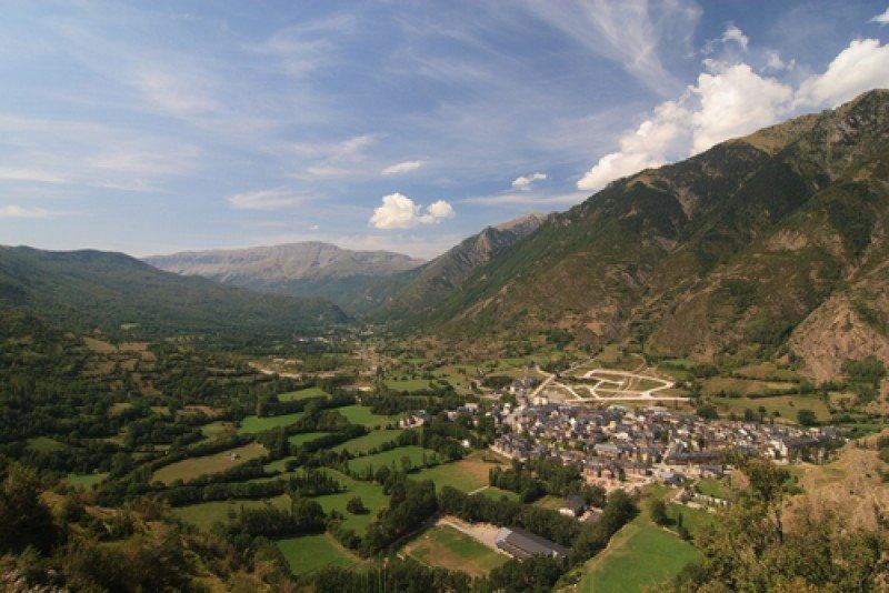 Valle de Benasque, en el pirineo aragonés. #shu#