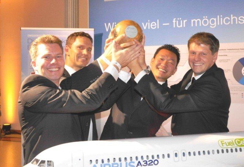 Airbus gana el premio GreenTec por su innovadora pila de combustible