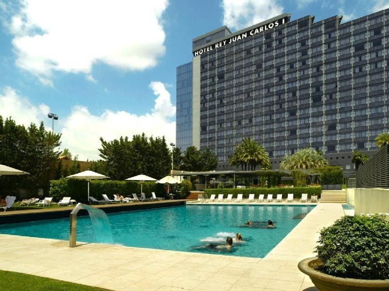 Hotel Rey Juan Carlos I de Barcelona.