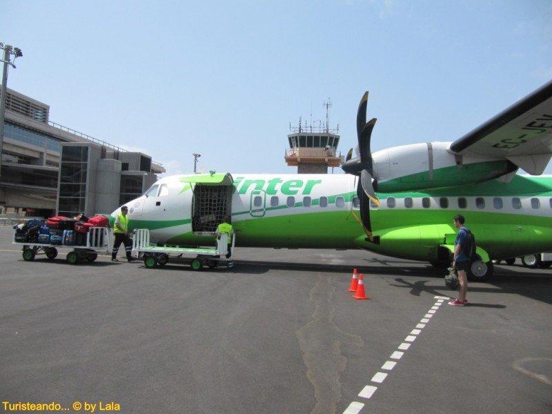 BinterCanarias es la más puntual de Europa y única del mundo que ha operado puntualmente el 100% de sus vuelos.