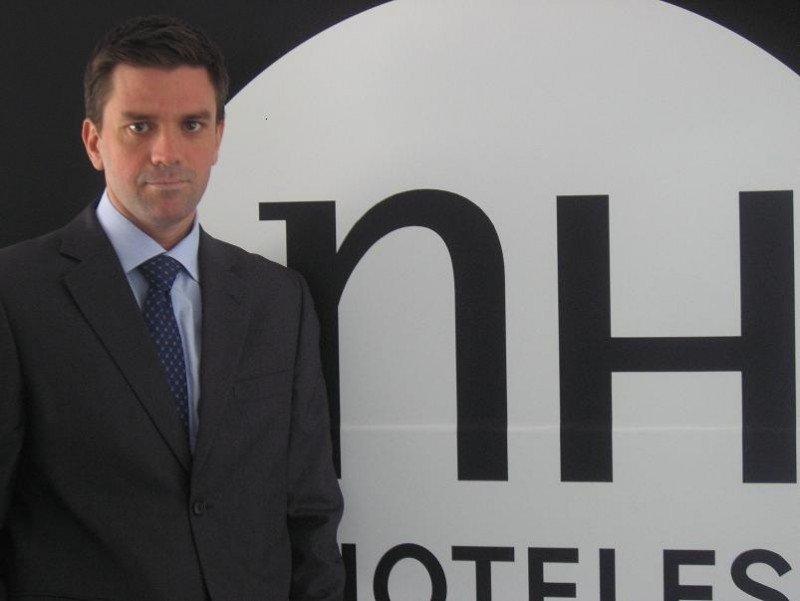 Javier Pardo, nuevo director comercial de NH Hoteles para España, Portugal y Andorra.