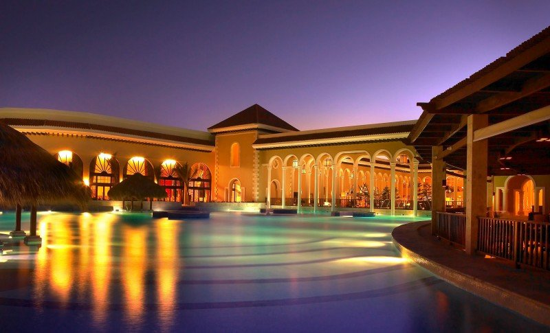 Los hoteles españoles en el Caribe reciben muchos clientes norteamericanos. Foto: Paradisus Playa Real Resort.