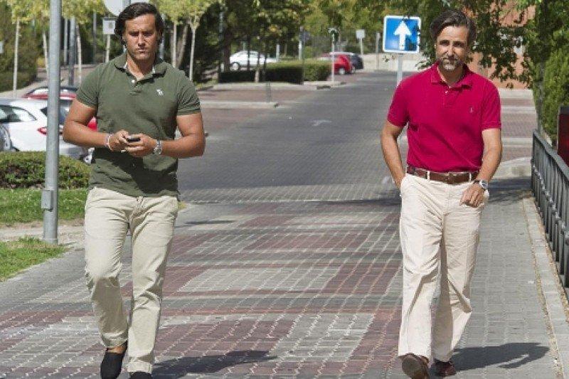 Álvaro y Javier Ruiz Mateos. Fotografía: El Mundo.