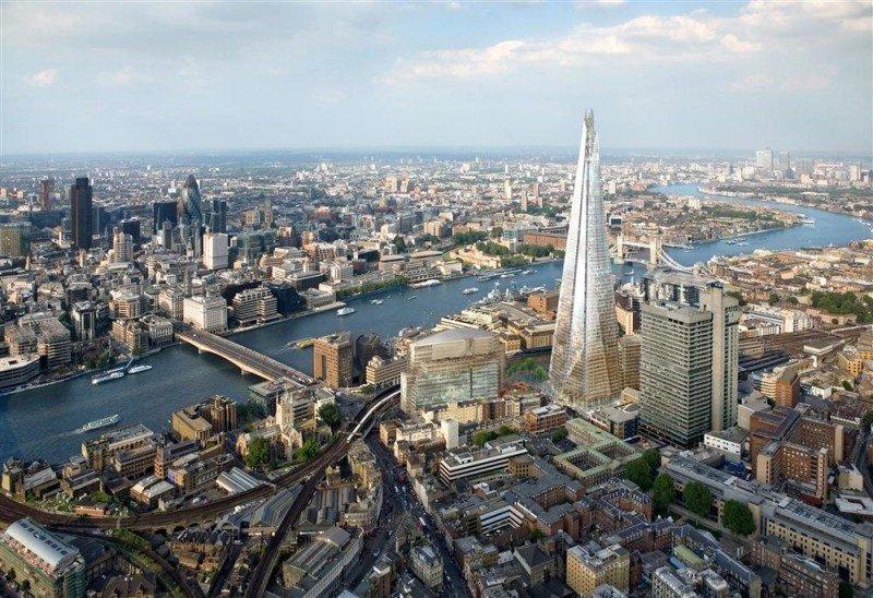 El rascacielos The Shard albergará antes de que acabe el año el Shangri-La London.
