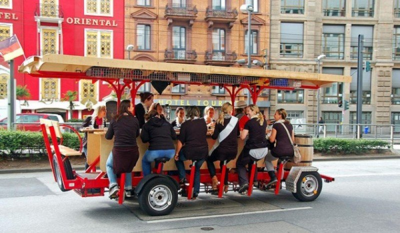 Beer Bike, o chiringuitos rodantes.