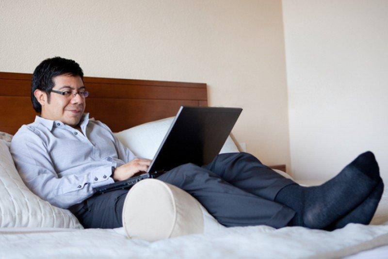 El hotel con wifi gratis hace más feliz al 89% de los viajeros de negocios. #shu#