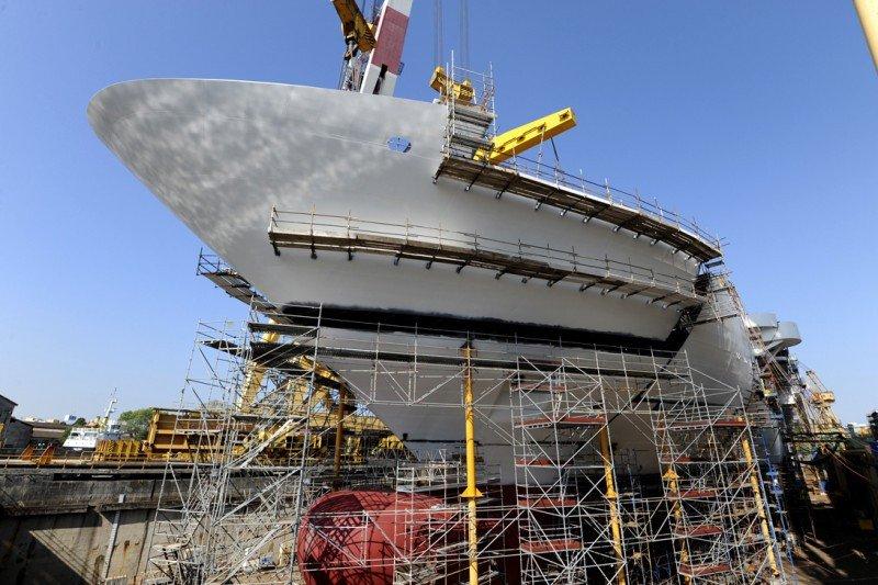 Costa Cruceros invierte 550 M € en la construcción del Costa Diadema