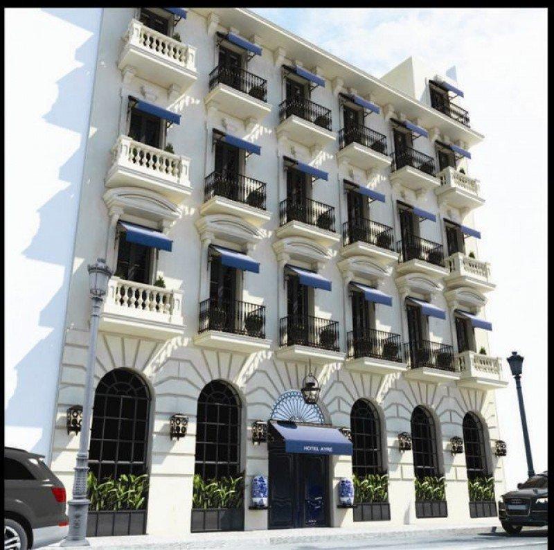 El hotel Only YOU está ubicado en un edificio del siglo XIX en la calle Barquillo de Madrid.
