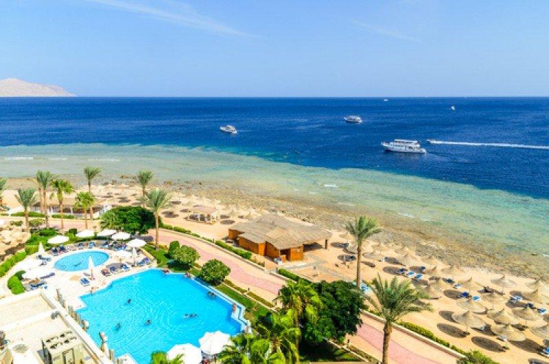 Uno de los resorts del Mar Rojo. #shu#
