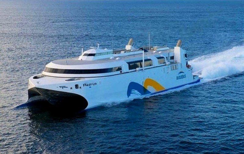 El nuevo catamarán de BQB, propulsado con gas licuado.