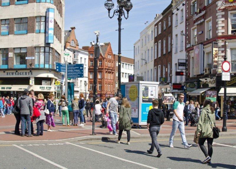 El centro urbano de Dublín. #shu#