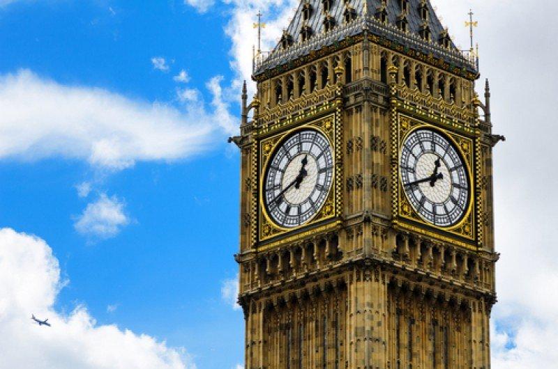 La torre del Big Ben de Londres. #shu#