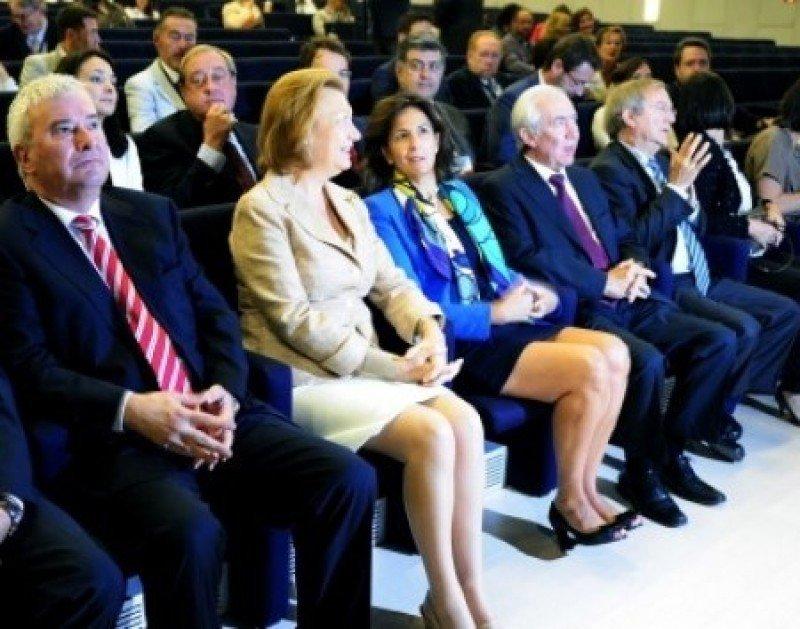 Un momento de la inauguración del congreso COMTUR en Zaragoza.