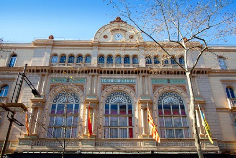El Gran Teatro del Liceo de Barcelona. #shu#