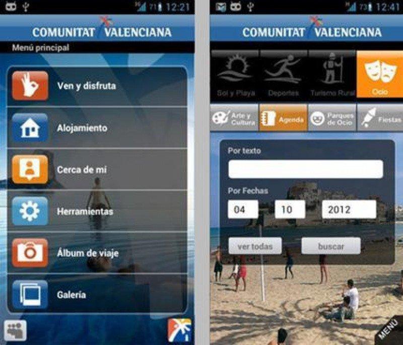App turística para móviles desarrollada por la Comunidad Valenciana.