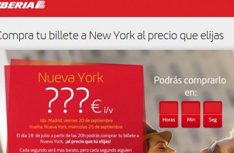 Vuelo social de Iberia: una insólita fórmula de comercialización