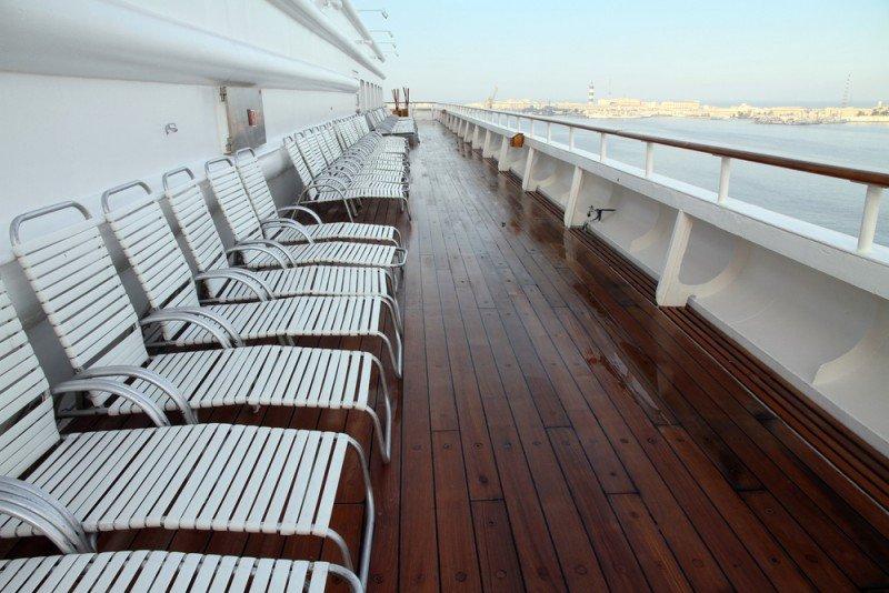 España recibió 7,6 millones de cruceristas en 2012. #shu#