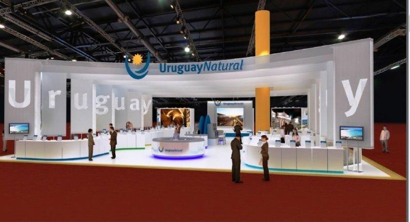 Cómo será el stand de Uruguay en la FIT 2013