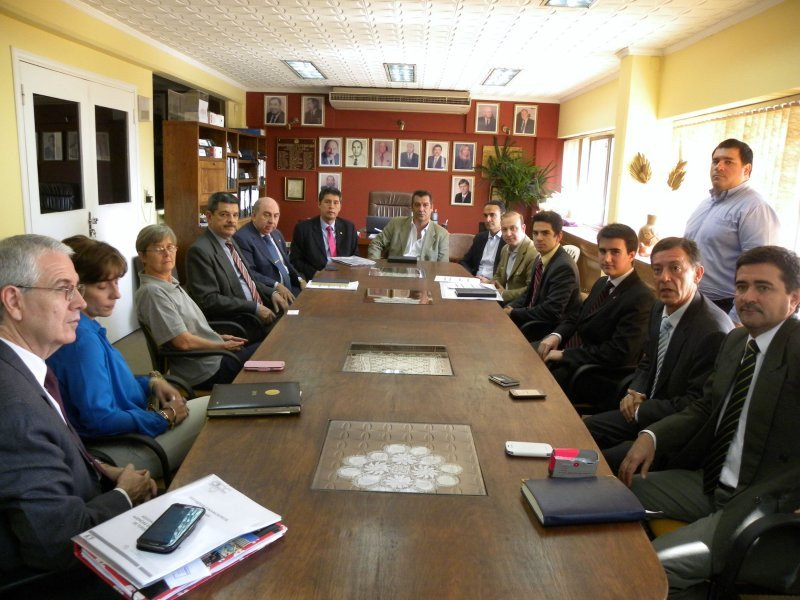 Autoridades de Air Europa y Mercapital presentan su proyecto ante el gobierno paraguayo