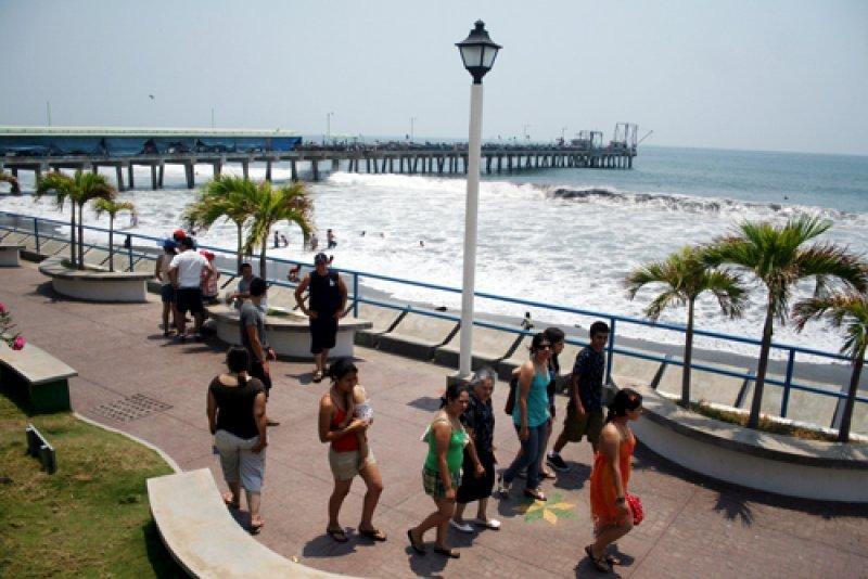 Puerto de la Libertad, El Salvador.