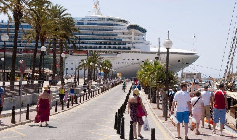 El gasto de cada crucerista en Cartagena es de US$ 97,77.