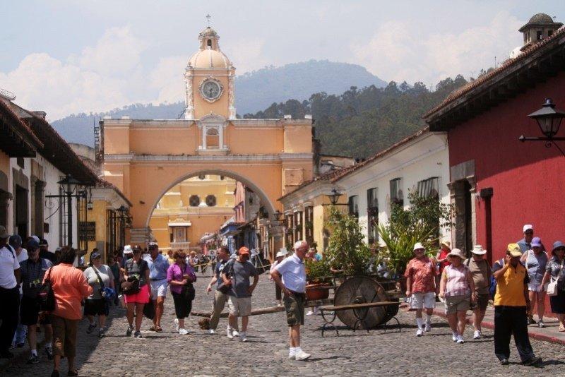 Calle del Arco en Antigua, Guatemala