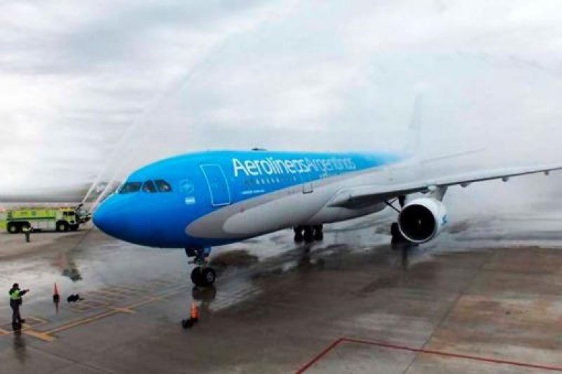 Este avión operará los vuelos directos entre Buenos Aires y Nueva York.