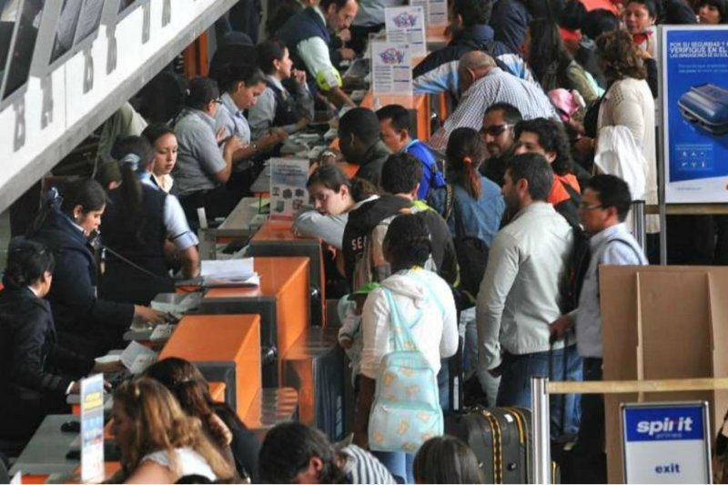 Entre mercado doméstico e internacional se transportaron 16.188.000 pasajeros.