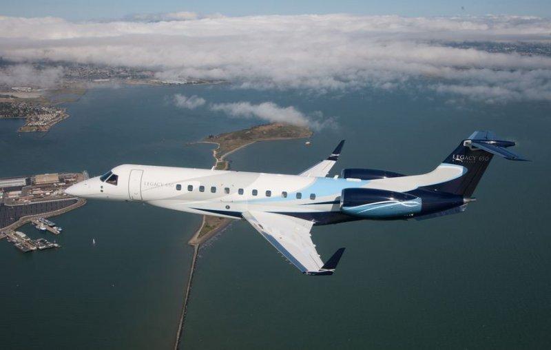 Legacy 650, jet de negocios.