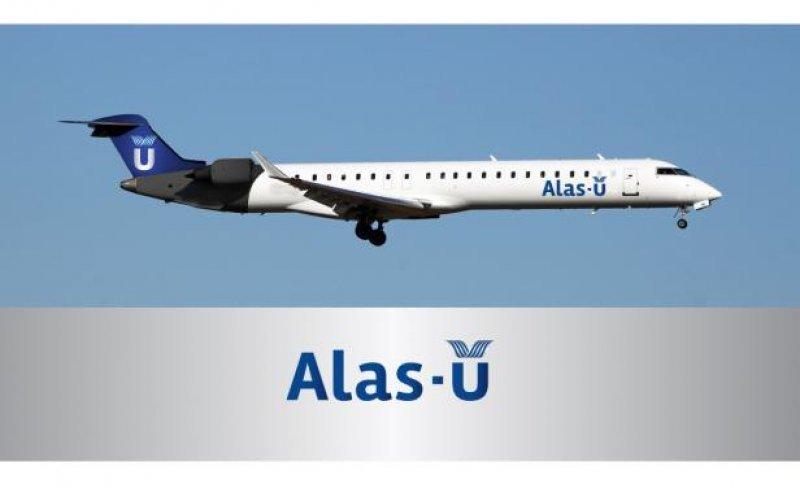 Así quedarán los Bombardier al servicio de Alas-U