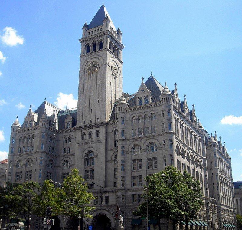 Antiguo edificio de Correos de Washington que albergará el establecimiento de Trump Hotel Collection.